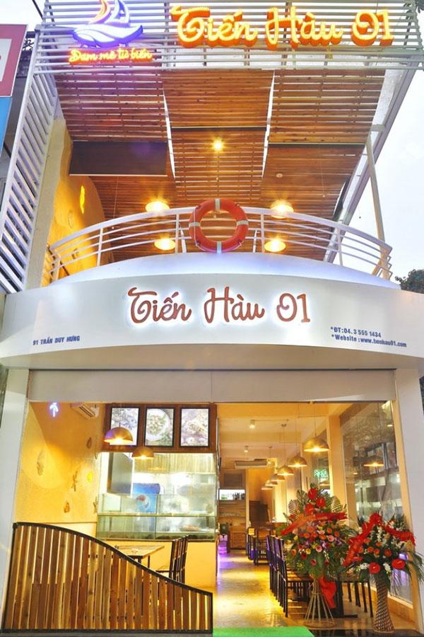 Nhà hàng hải sản Tiến Hàu